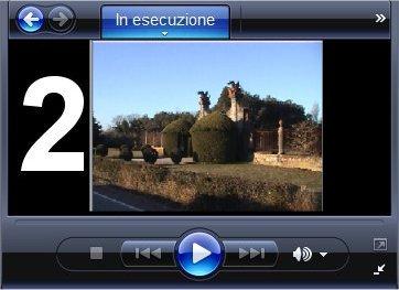 Visualizza un filmato in formato .mpeg